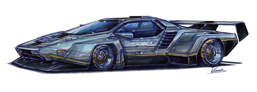 Vector W8 Twin Turbo Super Silhouette By Vsdesign69 On