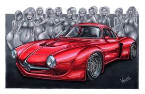 Alfa Romeo Giulia Sprint Speciale by vsdesign69