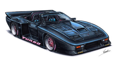 Nissan 300ZX Super Silhouette by vsdesign69