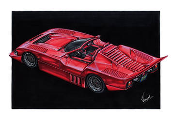 Ford Mustang GTP Roadster by vsdesign69
