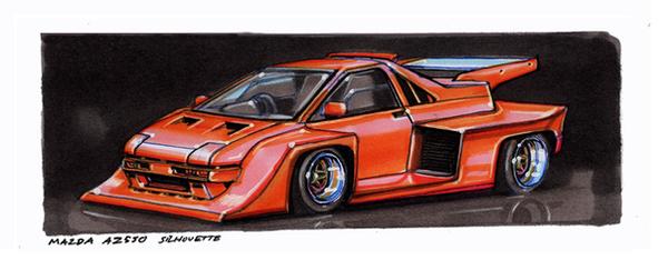 Mazda AZ550 Super Silhouette by vsdesign69