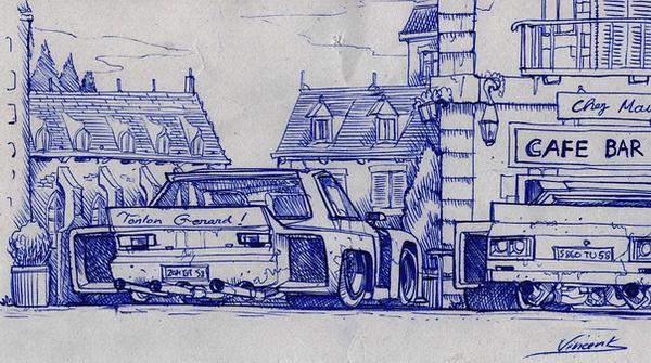 Street Racers Corner by vsdesign69