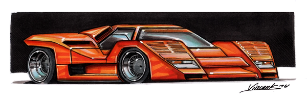 Lamborghini Countach SVX by vsdesign69