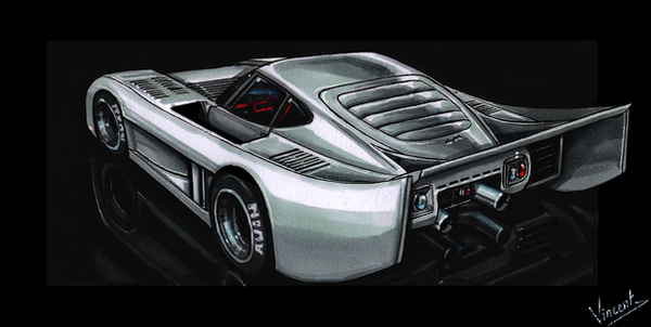 Toyota 2000GT Le Mans by vsdesign69