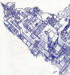 Abandonned Spaceship by vsdesign69