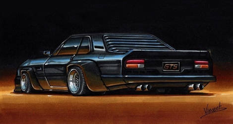 De Tomaso Longchamps GTS by vsdesign69