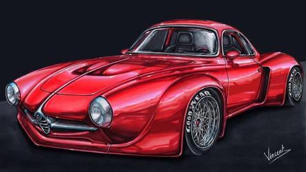 Alfa Romeo Giulia Sprint Speciale (Re) by vsdesign69