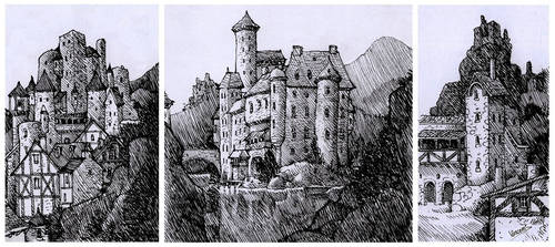 Old Castles Sketches