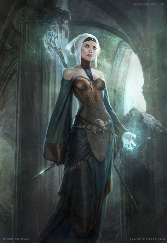 Elf Mage by ConceptArtOrg