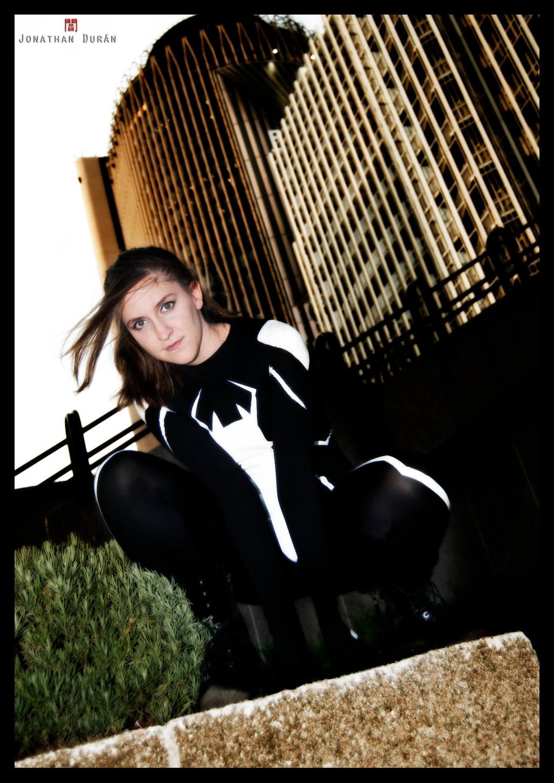 Spidergirl en Madrid!! by HaruDesu88