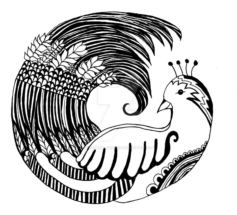 bird mandala by sarahmaedesigns on deviantart