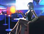 Lara at the club