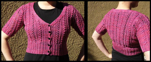 Whole Wheat Cardigan by radioactive-orchid