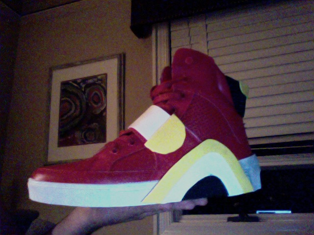 Red Soap Shoes