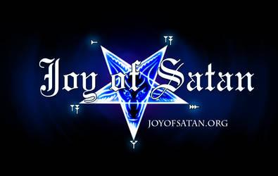 Joy of Satan logo by Bankrut
