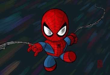 Chibi Spider-Man by CAG
