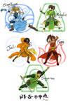 Avatar The Last Airbender OCs