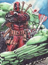 How to wake up the hulk by boricuanart