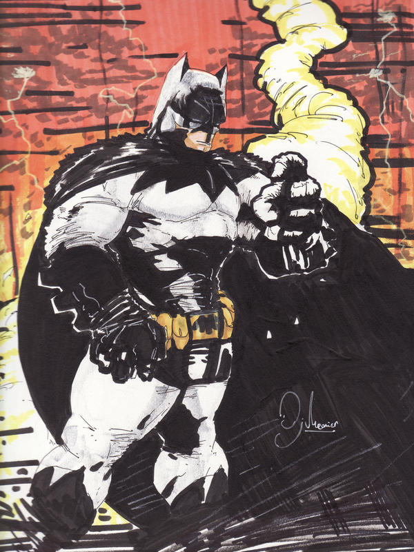 Batman Colored by boricuanart