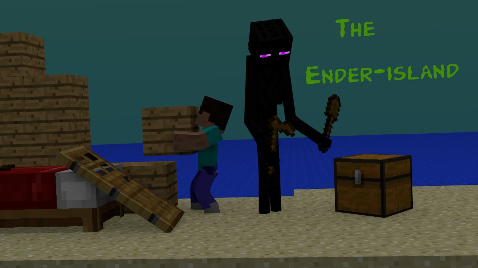 The Ender-Island (Animation Link in Description) by KomodoDags on ...