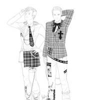 Glee: Klaine - All dressed up