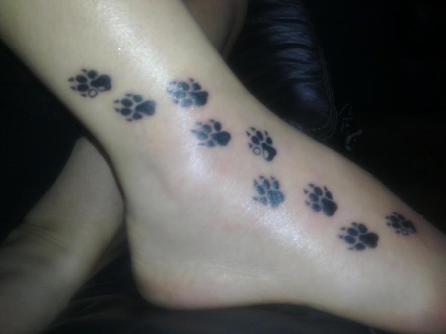 Dog Print Tattoo By Sol3030 On Deviantart