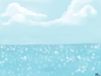 Blurry Ocean