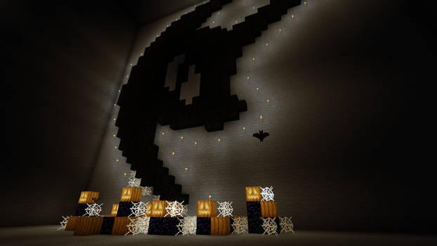 Minecraft/Pixel Art - Nightmare Night!