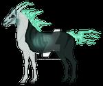Halloween  Fantasy Horse Adopt # 2 AUCTION  CLOSED