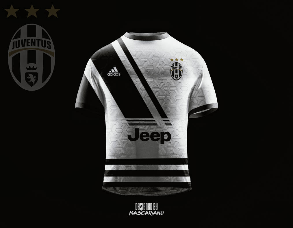 4993f0e72 Juventus Football Club 2018 2019 (Concept Kit) by Mascariano on ...