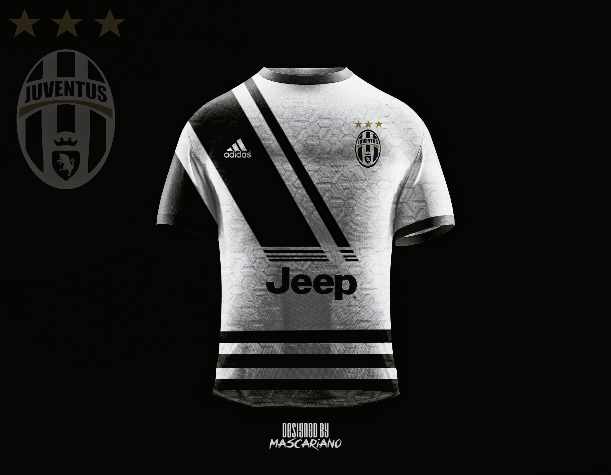 separation shoes 29ce1 e08c5 Juventus Football Club 2018/2019 (Concept Kit) by Mascariano ...