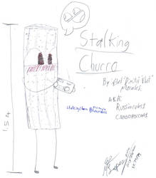 Stalking Churro by Russiarules1