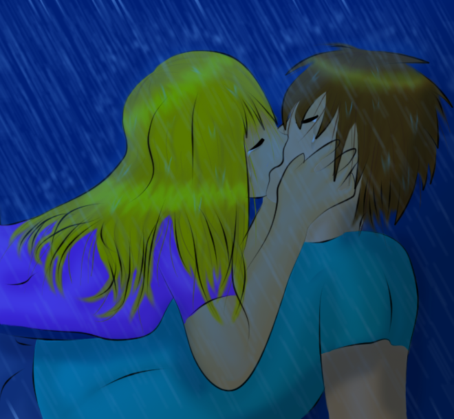 30. Under the Rain by ArtsySnail on deviantART