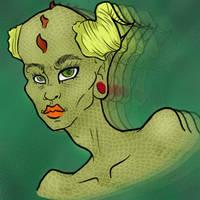luv my alien gal by mindlessmutt