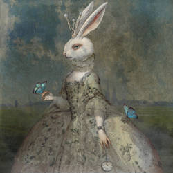 Rabbit Princess by serpentana