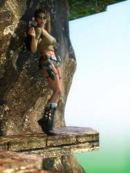 Edge (Laura) by rendercomics