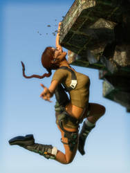 Leap (Laura) by rendercomics
