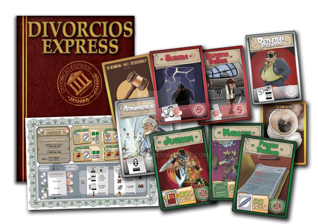 DIVORCIOS EXPRESS - Cardgame by golemvb6