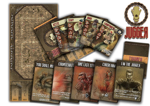 JUGGER The Boardgame