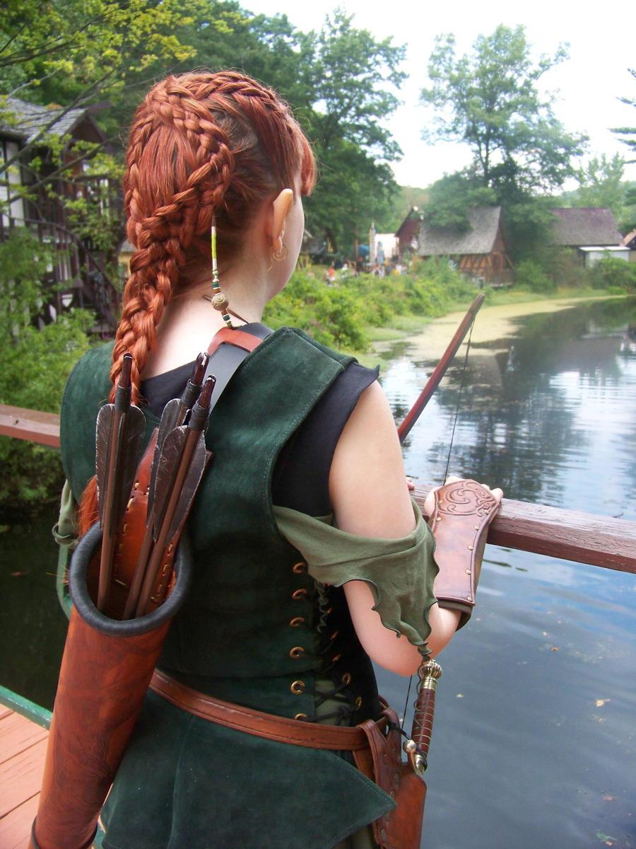 Redhead elven archer sexy usa sexgirls