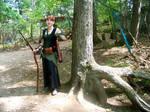 Elven Archer--Forest Sunlight