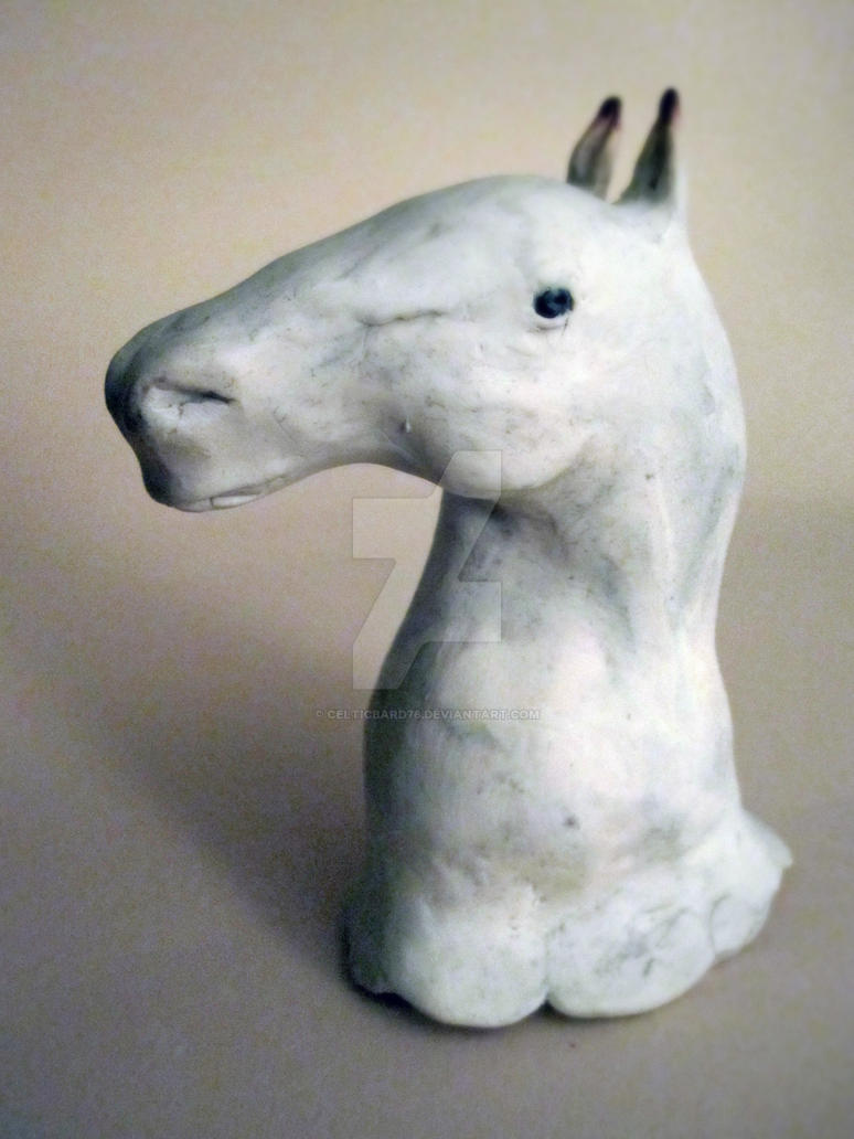 Duncan--First Sculpture by celticbard76