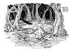 To Rest on your Laurels - INKTOBER 05