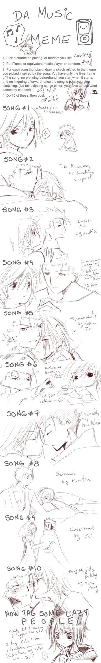 Maeoneechan's Music meme by inma