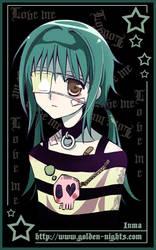 Random punk girl. by inma