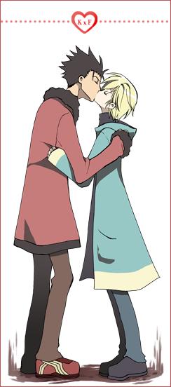 TRC - KuroFay kiss. by inma