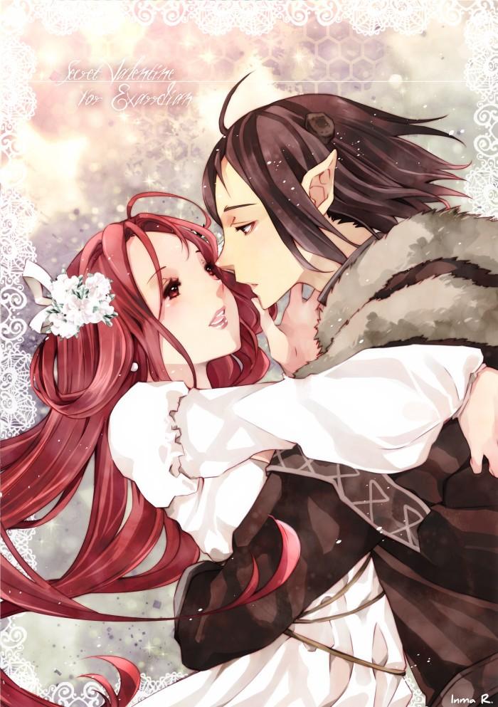 Secret Valentine for Exarrdian. by inma