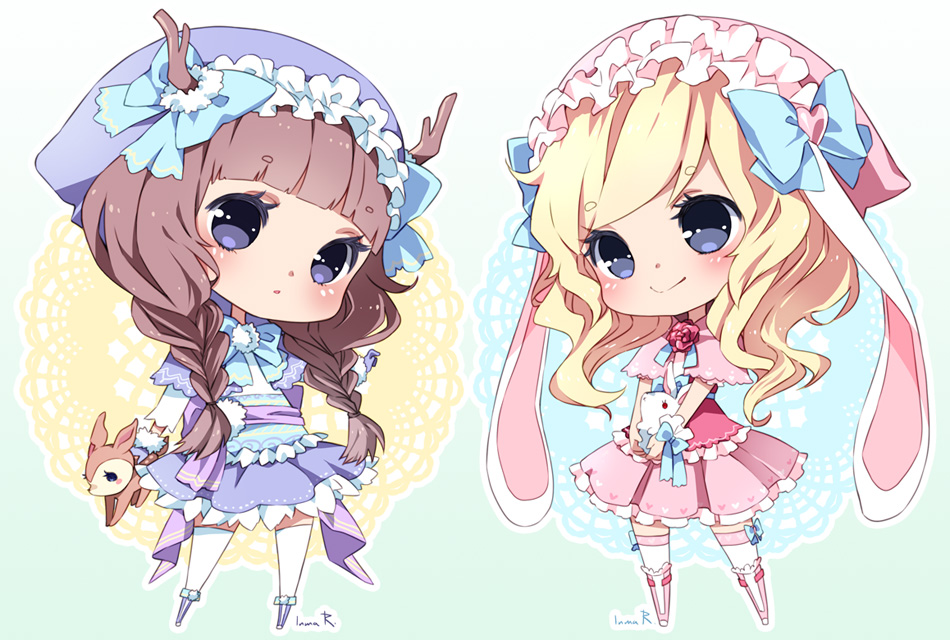 Chibi Commission Batch03 By Inma On Deviantart