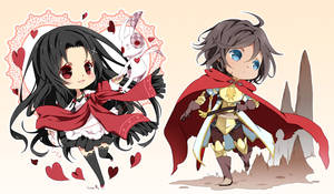 Chibi commission batch11 by inma
