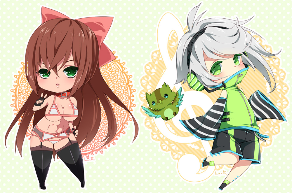 Chibi commission batch17 by inma